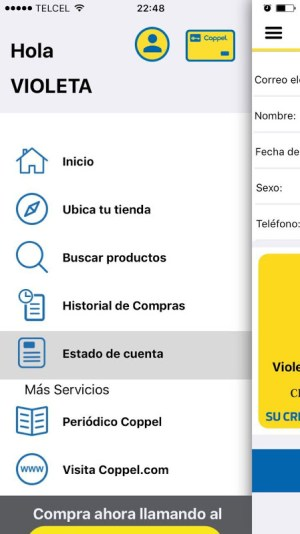 Coppel 4.2.4 Screen 1