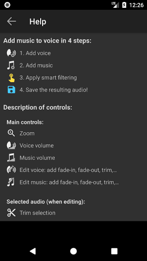 Add Music to Voice 2.0.4c Screen 7