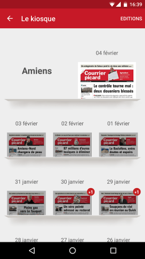 Courrier Picard 3.3.10 Screen 3