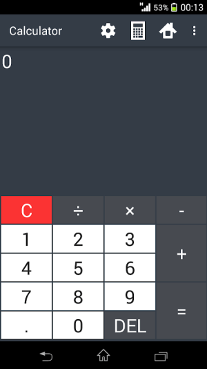 Building calculator 1.9.6 Screen 5