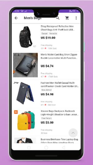 men bags shopping 4.0 Screen 6