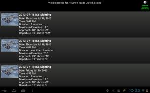 NASA App 1.43 Screen 5
