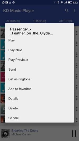 KD Music Player 2.1 Screen 3