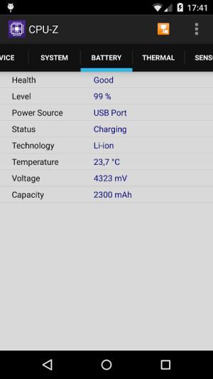 CPU-Z 1.33 Screen 3