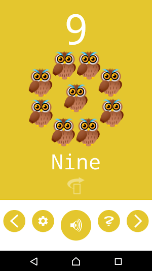 Number Flashcards 1.0.1 Screen 5
