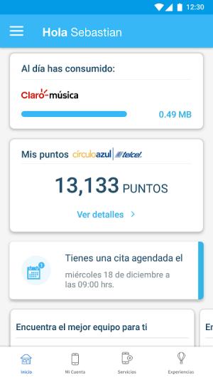 Mi Telcel 9.4.1 Screen 2