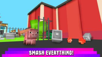 Cube Pig Simulator 3D Screen