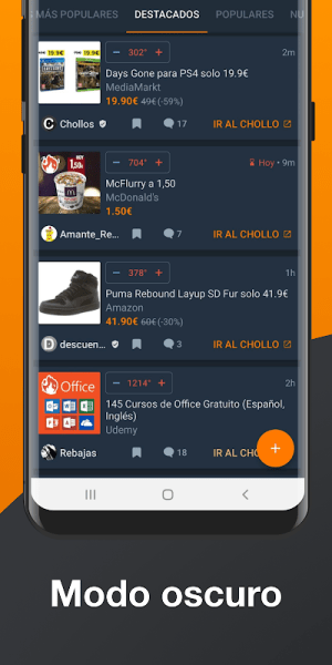 Chollometro – Chollos, Black Friday, ofertas 5.24.03 Screen 1
