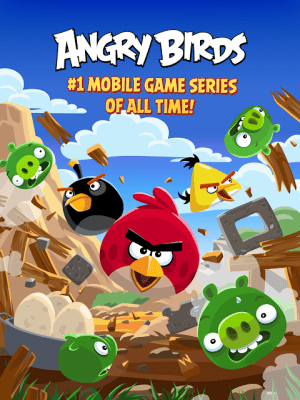 Android Angry Birds Classic Screen 5