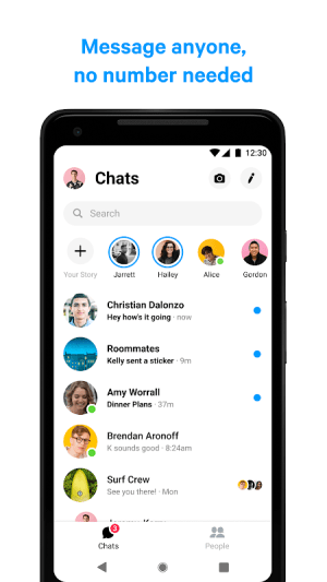Messenger – Text and Video Chat for Free 261.0.0.0.3 Screen 1