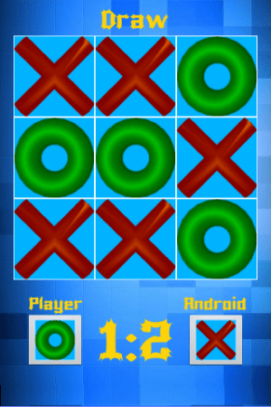Android Free Tic Tac Toe Screen 4