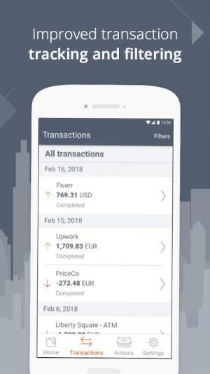 Payoneer – Global Payments Platform 5.2.0 Screen 4