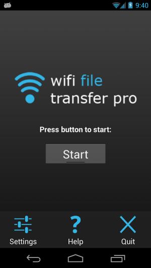 WiFi File Transfer Pro 1.0.9 Screen 2