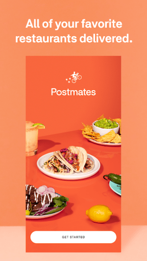 Postmates - Local Restaurant Delivery & Takeout 5.8.1 Screen 3