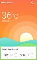 360 Weather - Weather Forecast Screen
