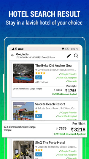 EaseMyTrip – Cheap Flights, Hotels, Bus & Holidays 3.10.2 Screen 5