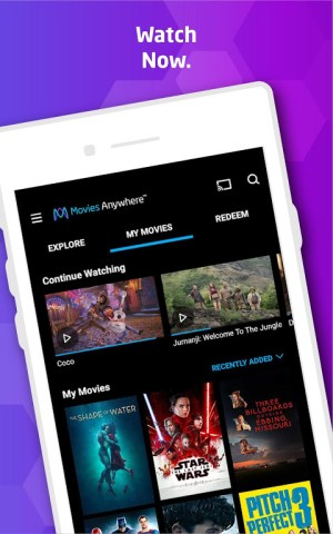 Movies Anywhere 1.9.2 Screen 1