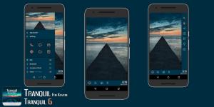 Tranquil for Kustom KLWP 2.1 Screen 5