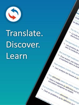 Reverso Translate and Learn 9.6.0 Screen 2