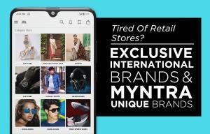 Myntra Online Shopping App 1.1 Screen 1