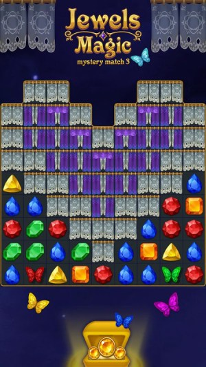 Jewels Magic: Mystery Match3 20.1026.01 Screen 2