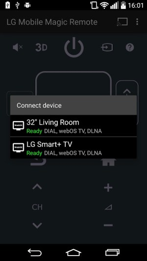 webOS Magic Remote 1.3.6 Screen 1