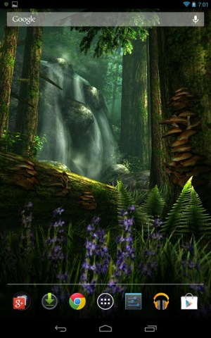 Android Forest HD Screen 17