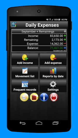 Daily Expenses 2: Personal finance 2.6.74 Screen 16