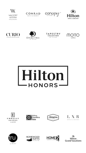 Hilton Honors 3.1.1 Screen 1