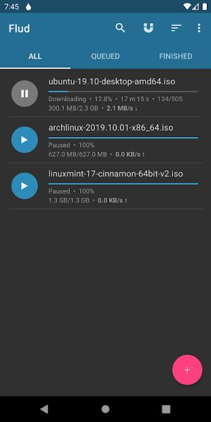 Flud - Torrent Downloader 1.6.6 Screen 10