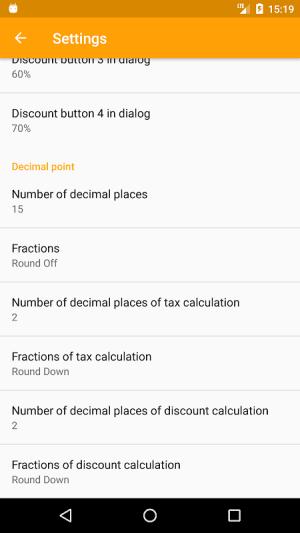 Discount Calculator App 2.14.15 Screen 3