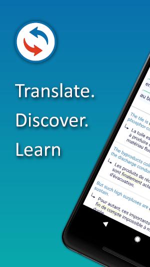 Reverso Translate and Learn 9.6.0 Screen 1