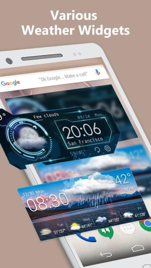 Android Weather Screen 3