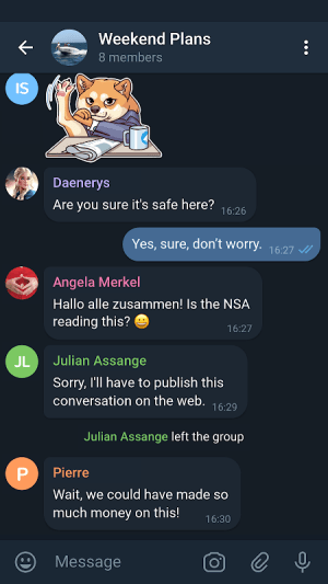 Telegram X 0.22.4.1271-arm64-v8a Screen 1