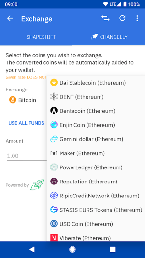 Coinomi Wallet :: Bitcoin Ethereum Altcoins Tokens 1.15.6 Screen 7