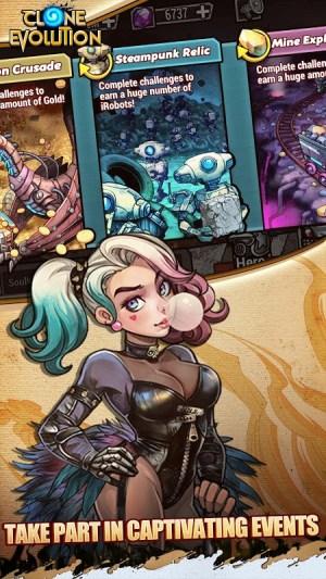 Clone Evolution: RPG Battle-Future Fight Fantasy 1.3.2 Screen 1