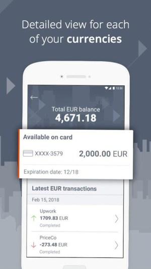 Payoneer – Global Payments Platform 5.2.0 Screen 3