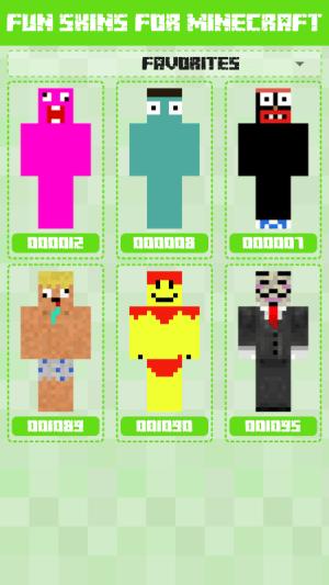 Fun Skins for Minecraft 1.0.0.125 Screen 2