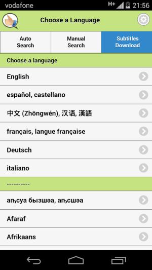 Get Subtitles 10.0 Screen 2