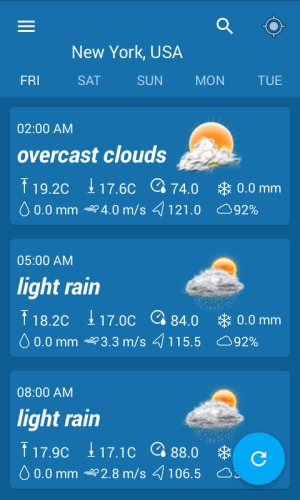 Weather Forecast & Widgets 1.2 Screen 1