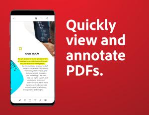 Adobe Acrobat Reader: PDF Viewer, Editor & Creator 20.6.2.14256 Screen 1