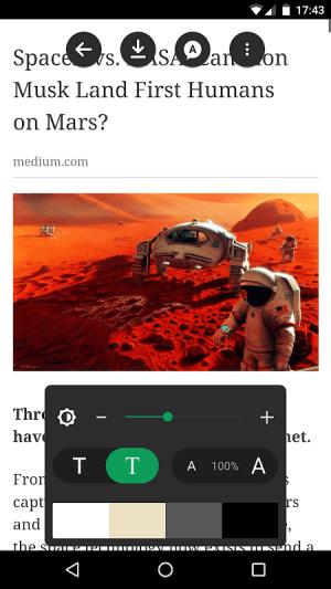Article Reader Offline 2.65 Screen 1