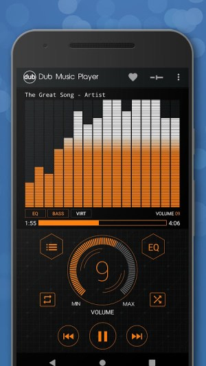 Android Dub Music Player - Free Audio Player, Equalizer 🎧 Screen 6