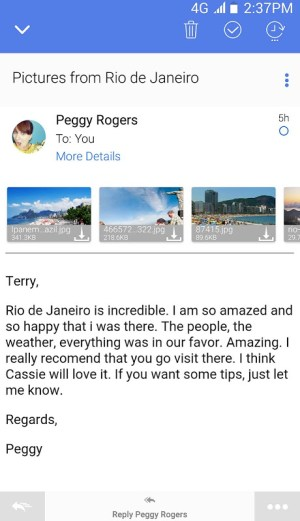 TypeApp mail - email app 1.9.7.31 Screen 3