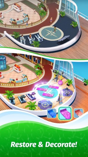 Android The Love Boat: Puzzle Cruise – Your Match 3 Crush! Screen 4