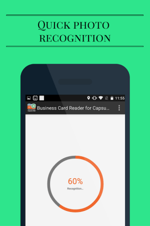 Capsule CRM Business Card Reader 1.1.145c Screen 5