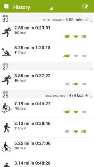 Endomondo Sports Tracker PRO 10.7.1 Screen 4