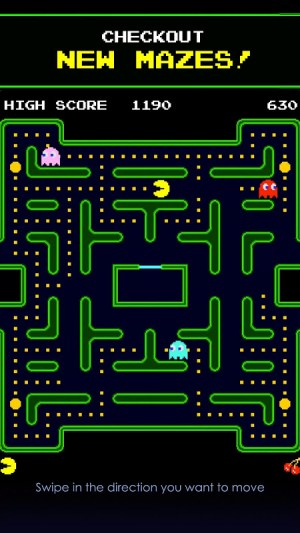 PAC-MAN 7.3.2 Screen 2
