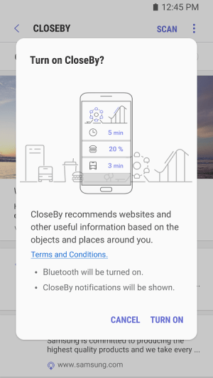 Samsung Internet Browser Beta 6.2.01.7 Screen 1