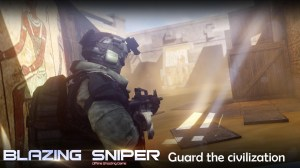 Android Blazing Sniper - offline shooting game Screen 3